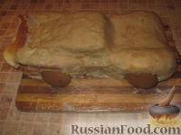 """Фото приготовления рецепта: Торт """"Машинка Маккуин"""" (Тачки) (пошагово) - шаг №22"""