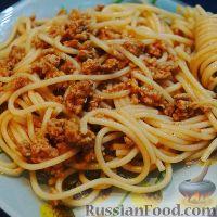 Рецепт паста с фаршем