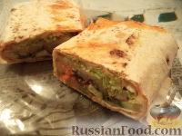 Фото к рецепту: Вегетарианская шаурма