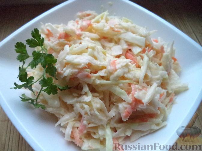 как приготовить салат из редьки и капусты?