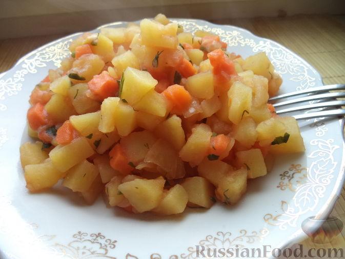 Картофельное рагу с овощами