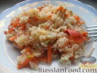 Фото к рецепту: Овощной плов