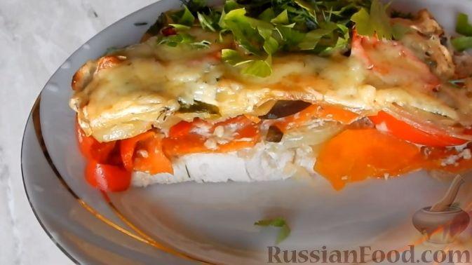 Рецепты с куриной грудкой в духовке с овощами рецепт пошаговый 94