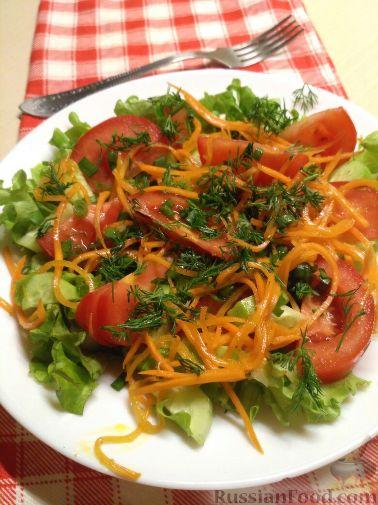 Рецепт: Морковь по-корейски 74