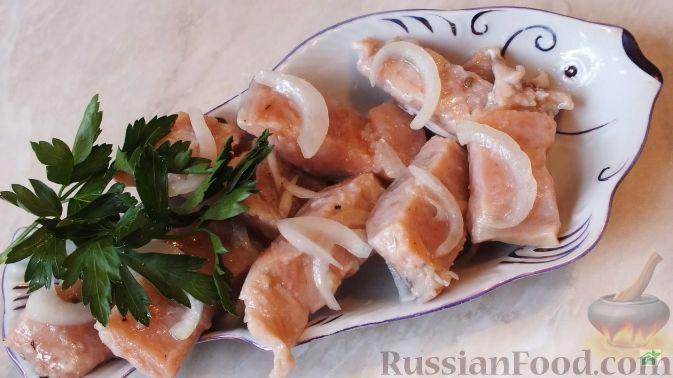 Горбуша маринованная - пошаговый рецепт с фото на Повар. ру