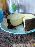 Фото к рецепту: Творожная запеканка в шоколадном тесте