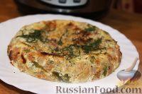 Фото к рецепту: Запеканка из цветной капусты и брокколи, с ветчиной (в мультиварке)