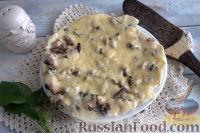 Фото к рецепту: Рыбная запеканка с горбушей и грибами (в мультиварке)
