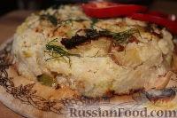 Фото к рецепту: Запеканка из цветной капусты (в мультиварке)