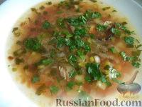 Фото к рецепту: Щи с килькой в томатном соусе