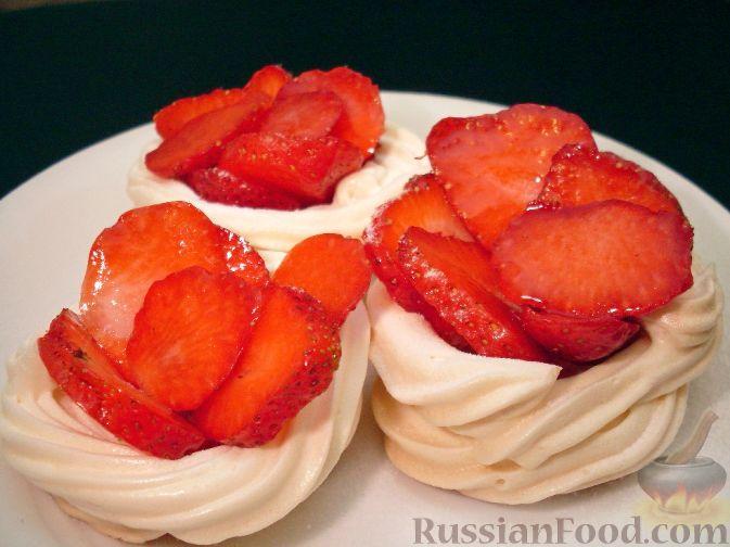 рецепт десерта из безе