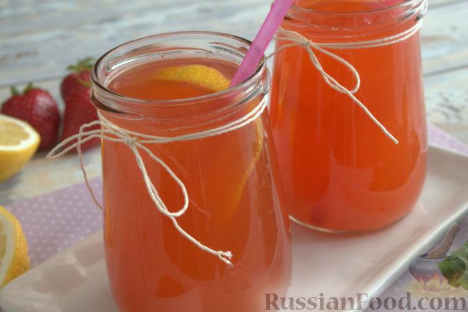 лимонад с клубникой рецепт