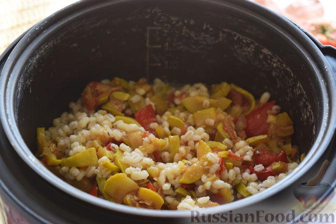 Рецепт перловки с овощами в мультиварке