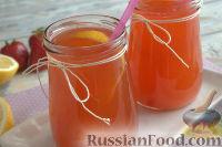 Фото к рецепту: Клубничный лимонад с мятой