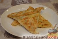 Фото приготовления рецепта: Закуска ёка с зеленью - шаг №5