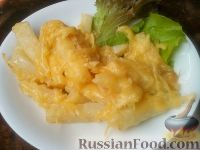 Фото к рецепту: Сельдерей жареный (2)