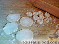 Фото приготовления рецепта: Вареники с черешней (на заварном тесте) - шаг №9