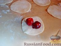 Фото приготовления рецепта: Вареники с черешней (на заварном тесте) - шаг №10