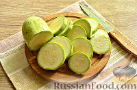 Фото приготовления рецепта: Кабачки в панировочных сухарях, запеченные в духовке - шаг №2
