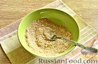 Фото приготовления рецепта: Кабачки в панировочных сухарях, запеченные в духовке - шаг №6