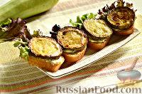 Фото к рецепту: Бутерброды с кабачками и листьями салата