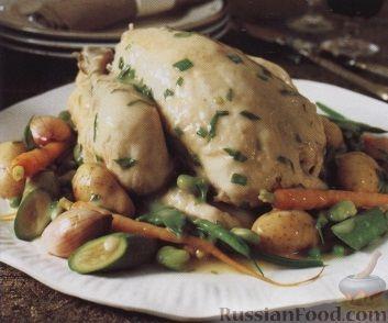 курица вареная рецепты