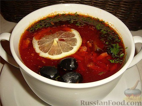 вкусная солянка мясная рецепт с пошаговым фото