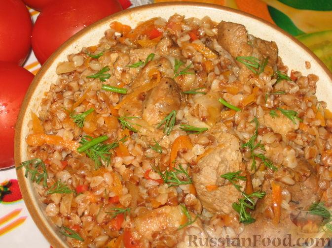 мясной салат с добавлением гречки рецепт