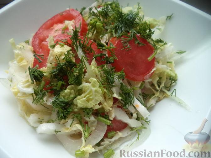Салат из пекинской капусты. Рецепт с фото 719