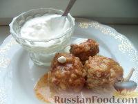 Фото к рецепту: Мясные тефтели с рисом