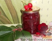Фото к рецепту: Варенье из черешни без косточек