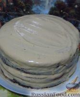 Фото приготовления рецепта: Большой праздничный торт - шаг №13