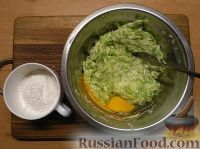 Оладьи из цукини с луком и зеленью на сковороде - рецепт пошаговый с фото