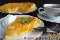 Фото к рецепту: Абрикосовый клафути