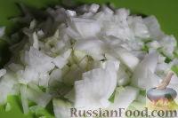 Фото приготовления рецепта: Перловая каша с мясом и овощами (в мультиварке) - шаг №5