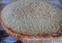"""Фото приготовления рецепта: Классический торт """"Птичье молоко"""" - шаг №6"""