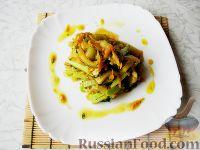 Фото к рецепту: Кабачки с соевым соусом