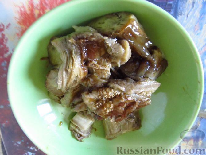 Икра из печеных баклажанов рецепт пошагово