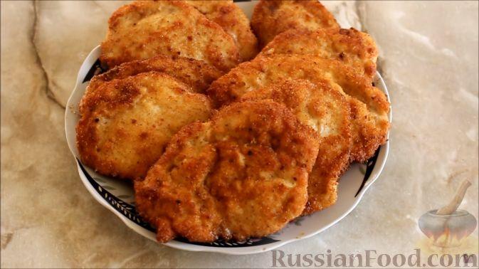 рецепт курицы в панировке