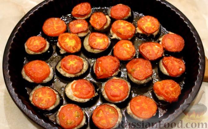Баклажаны с фаршем в духовке рецепт
