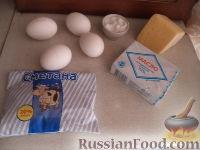 Яичница глазунья со сметанным соусом - рецепт пошаговый с фото