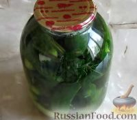 Фото к рецепту: Маринованные огурцы на зиму (без стерилизации)
