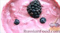Фото до рецептом: Ягідний смузі з ожини та чорниці