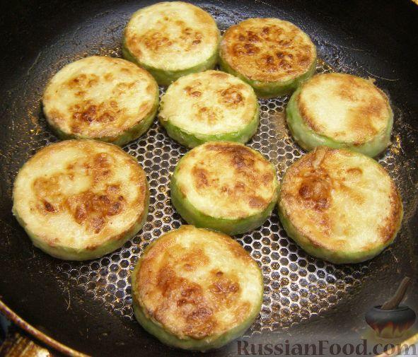 Жареные кабачки с помидорами - рецепт с фото 45