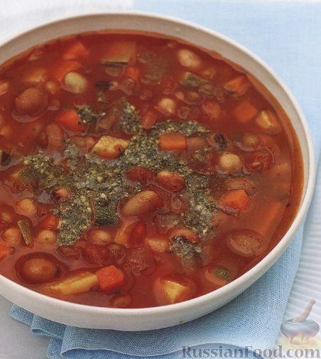 рецепт фасоливова супа