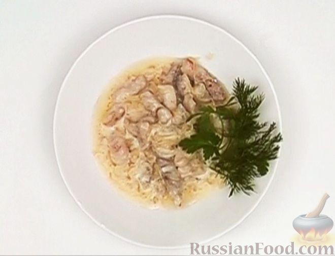 Рецепт Бефстроганов из свинины