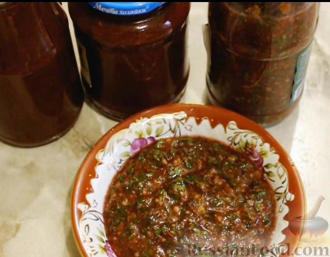 Рецепт соуса из слив