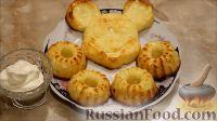 Фото к рецепту: Сырники, запеченные в духовке