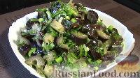 """Фото приготовления рецепта: Закуска из баклажанов """"Грибочки"""" - шаг №8"""