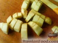 Фото приготовления рецепта: Баклажаны, тушенные в сметане - шаг №1